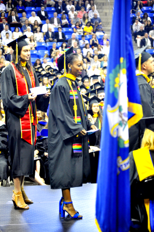 Quinnipiac Graduation at TD Bank center